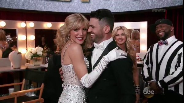 Marla Maples brought elegance to the dance floor with Tony Dovoloni in her Quickstep, good for a tie for second place. Photo: ABC