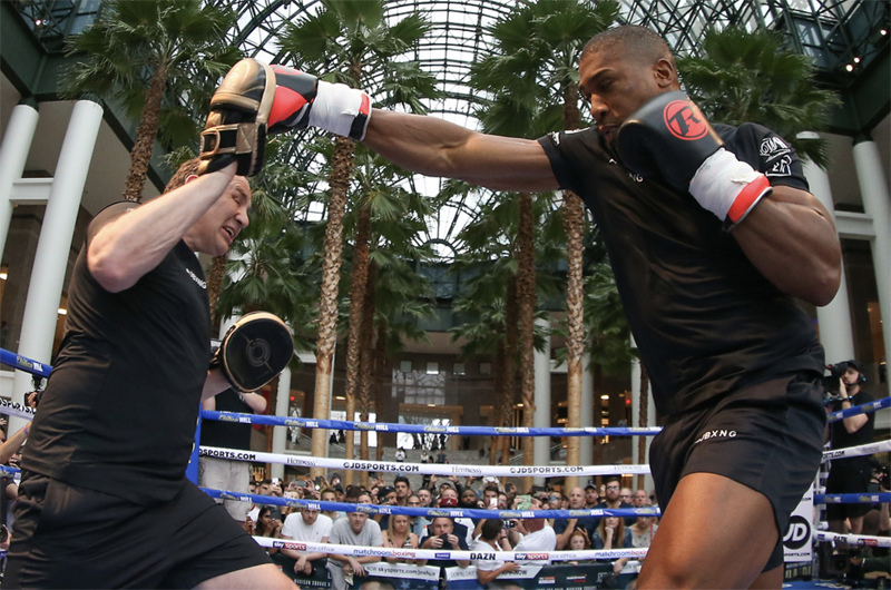 Anthony Joshua has knocked out 21 of his 22 professional opponents. Photo: Mark Robinson, Matchroom Boxing