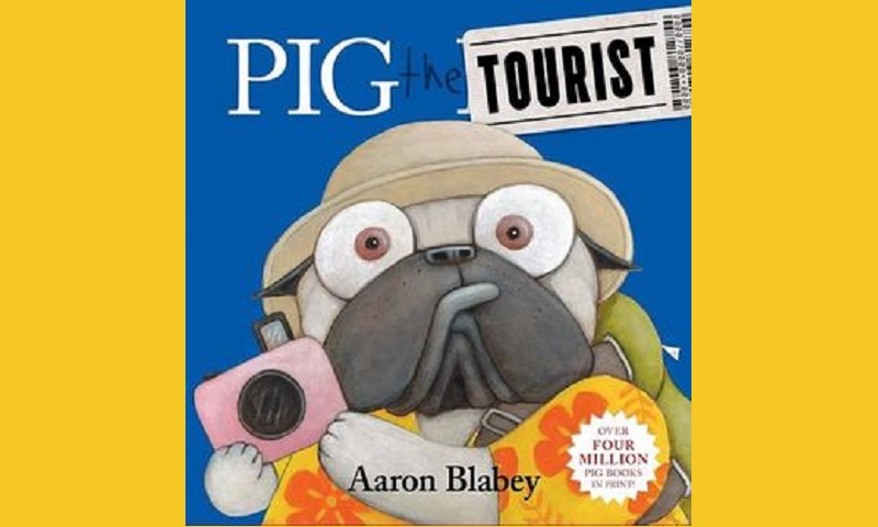 Pig the Tourist, Children's book, Travel, vacation